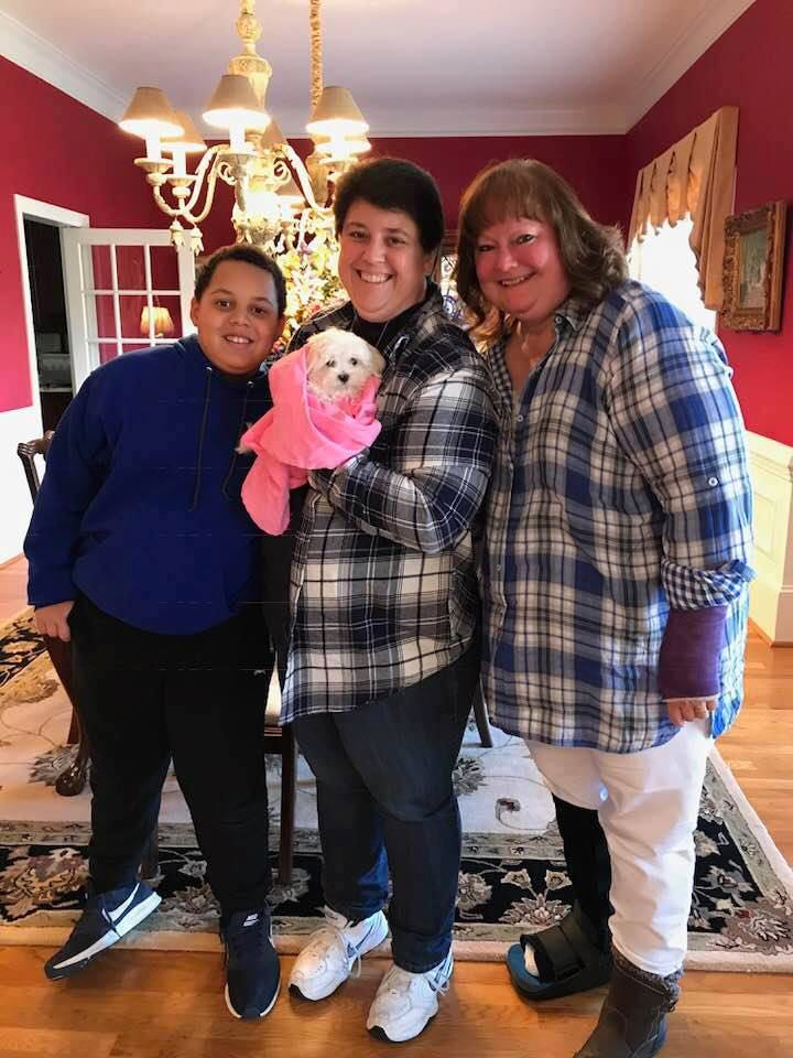 Gallimore Family w/Finley - Apex, NC