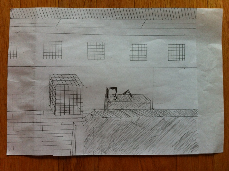 Ryan's Architectural Drawing of PPK